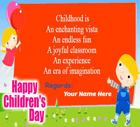 Happy Childrens Day Quotes From Principal