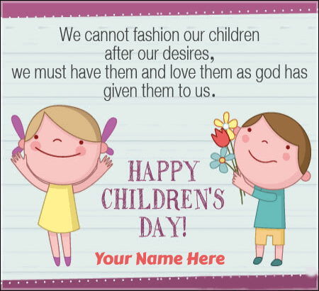 Happy Childrens Day Quotes Image