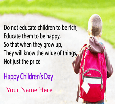 Happy Childrens Day Quotes for Kids