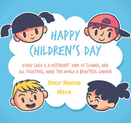 Happy Children's Day Wish