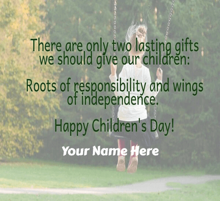 Happy Childrens Day for Neighbours