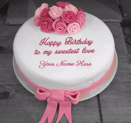 Sweet Birthday Cake For Girlfriend