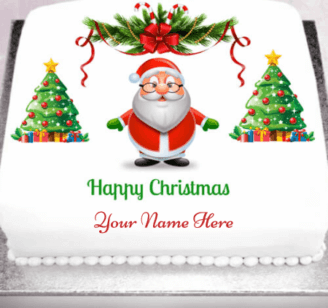 Beautiful Christmas Cake For Loved Ones