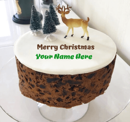 Christmas Birthday Cake For Her