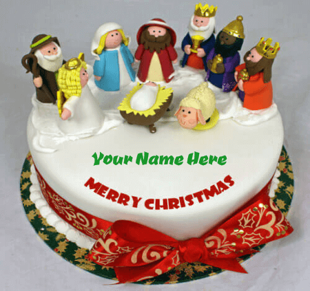 Christmas Birthday Cake Images