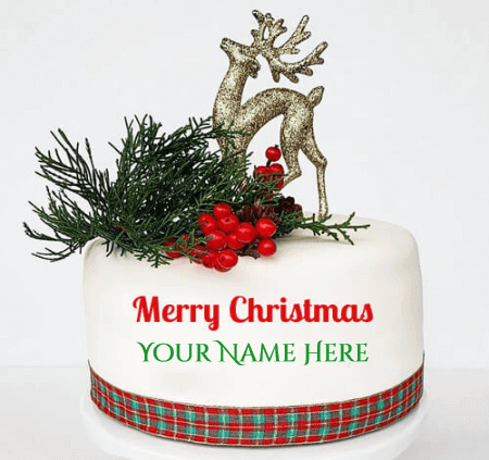 Christmas Birthday Cake Wishes