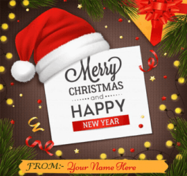 Christmas New Year Wishes for Friends