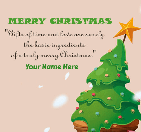 Christmas Tree Wishes For Friends
