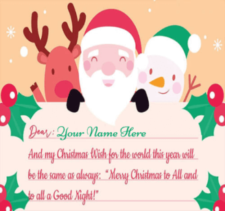 Cute Christmas Wishes For Loved Ones