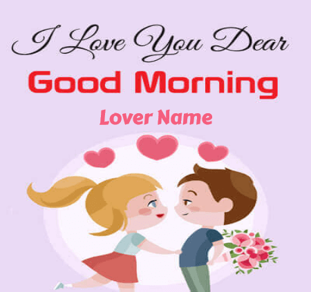 Cute Good Morning With Love