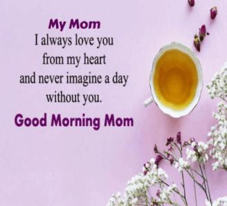 Good Morning For Mom