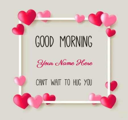 Good Morning Image For Lover