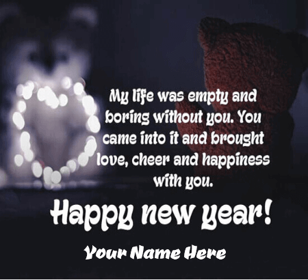 Happy New Year For Lover