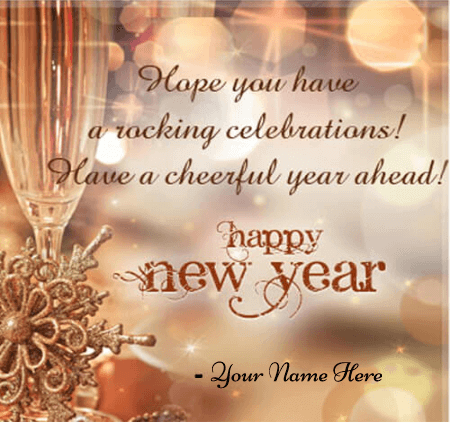 Happy New Year Greetings for Neighbours