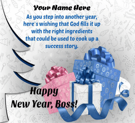 Happy New Year Messages For Boss