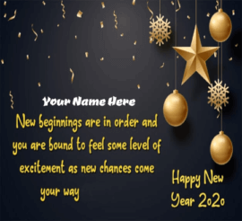 Happy New Year Wish for Friends