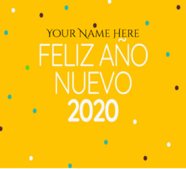 Happy New Year Wish in Spanish