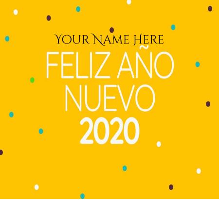 Happy New Year Wish in Spanish