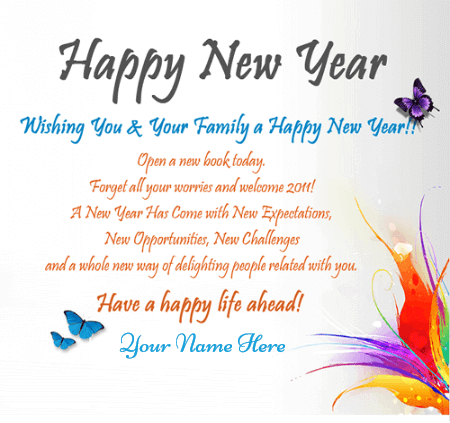 Happy New Year Wishes For Loved Ones