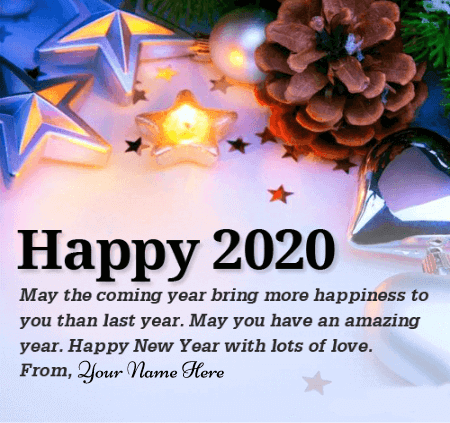 Happy New Year With Name Edit