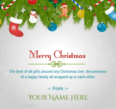 Merry Christmas Family Wishes Quotes