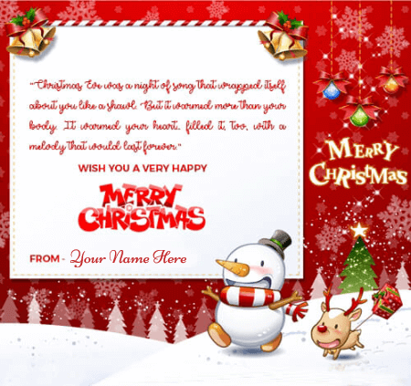 Merry Christmas Wishes With Quotes