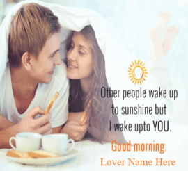 Romantic Good Morning Images For Lover