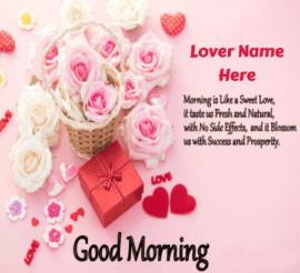 Romantic Morning Saying for Lovers