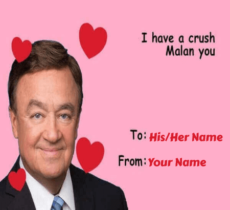 Celebrity Meme Valentines Cards
