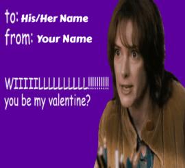 Celebrity Valentines Day Meme Cards