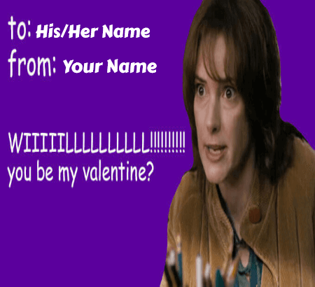 Celebrity Valentines Day Meme Cards