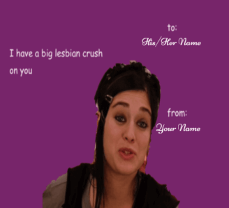 Dirty Meme Valentines Cards For Girls