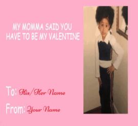 Kids Valentines Day Card Meme