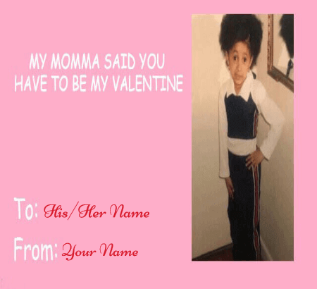 Kids Valentines Day Card Meme