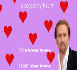 Love Meme Valentines Cards