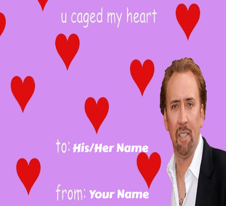 Love Meme Valentines Cards