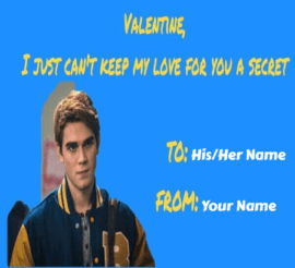 Lovers Meme Valentines Cards
