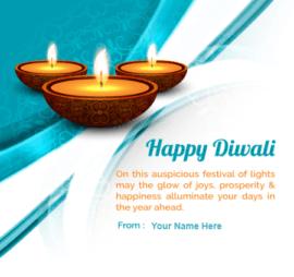 Happy Diwali Light Festival wish