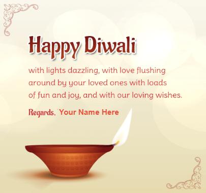 Happy Diwali Light Dazzling Quote