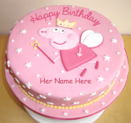 Fairies on cakes for girls