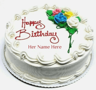 Roses on Cakes for girl