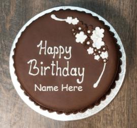 Simpe chocolate cakes for birthday