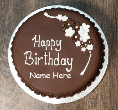 Simpe chocolate cakes for birthday