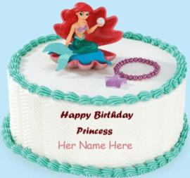Dolls on cake for girls