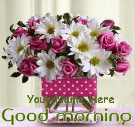 Romantic Good Morning for lovers