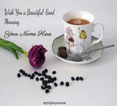 Lovely Good Morning for lovers