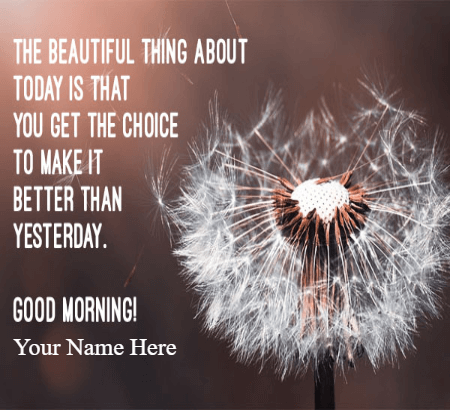 Good Morning Wishes with message