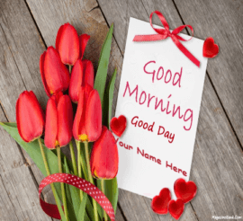 Lovers Good Morning cards