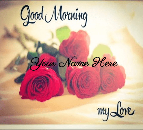 Good morning love card