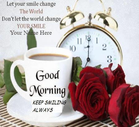Loving Good Morning